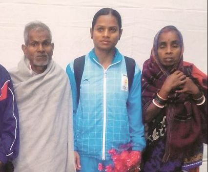 Dutee Chand Family