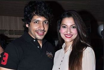 Nihar Pandya with Gauhar Khan