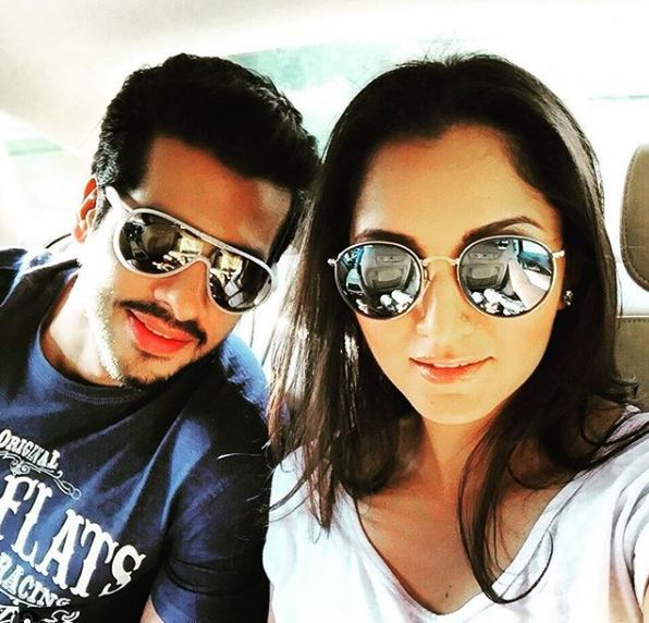 Nihar Pandya with sania mirza