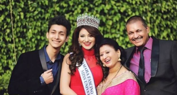 Urvashi Rautella family