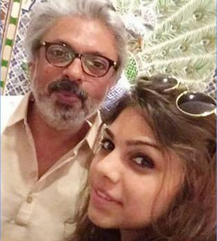 Sharmin Sehgal with uncle