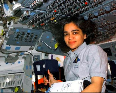 Chawla in the space.