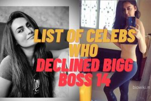 List of Celebs who declined Bigg Boss 14